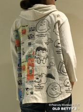 SNOOPY Remake Sweat Parkaが入荷しています。